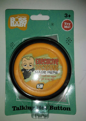 Boss Baby Executive Decision Talking Button-We Got Character