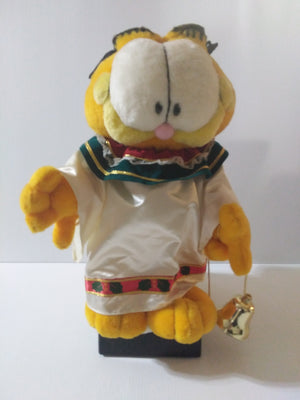 Garfield Christmas Animated Musical Angel Figurine-We Got Character