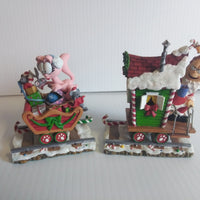Danbury Mint Garfield Christmas Food Train Set