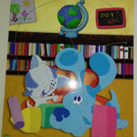Blue Clues Periwinkle Wooden Puzzle-We Got Character