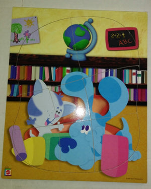 Blue Clues Periwinkle Wooden Puzzle - We Got Characater