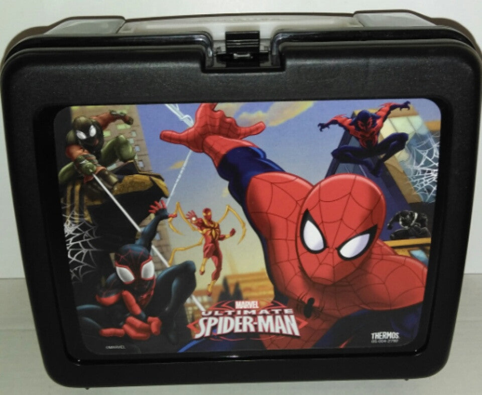 Black Spider Man Lunch Box-We Got Character