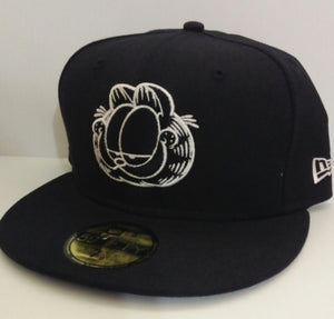 Black Garfield Ball Cap Hat-We Got Character