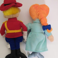 Universal Pictures Dudley Do-Right & Nell Plush