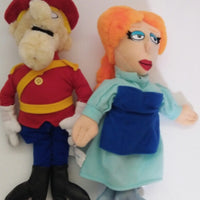 Universal Pictures Dudley Do-Right & Nell Plush-We Got Character
