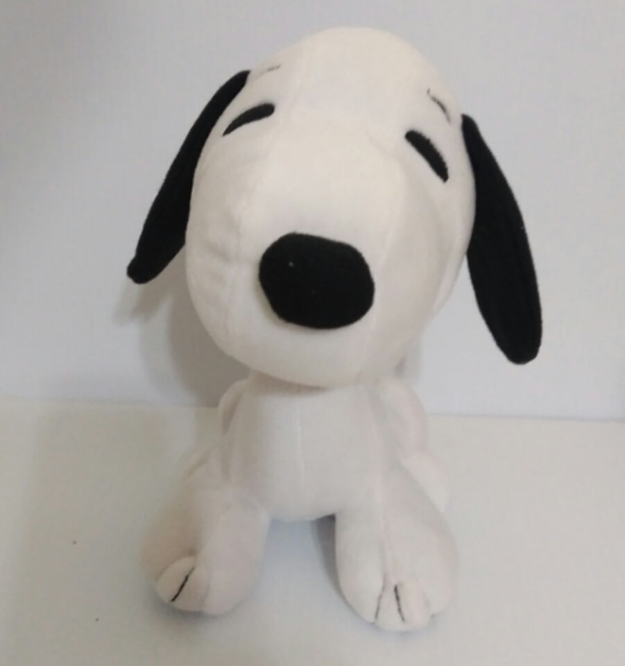Snoopy & Peanuts large Plush Hallmark Card Holder -We Got Character