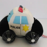Plush Police Car Bank-We Got Character