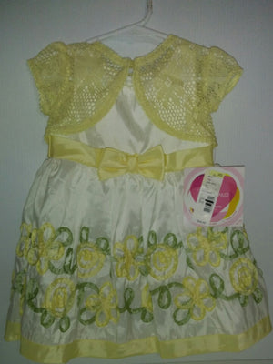 Youngland Dress & Sweater Size 24 Months