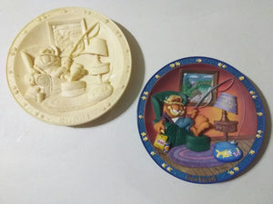 Garfield Collectors Plate Gone Fishin' Danbury Mint  With Prototype Mold-We Got Character
