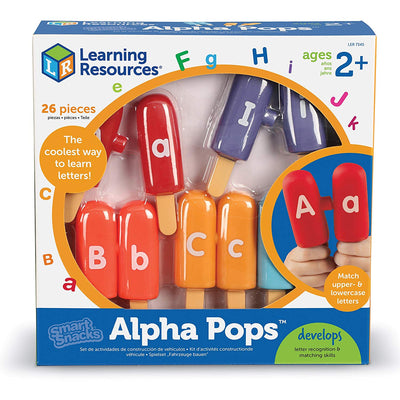 Learning Resources Smart Snacks Alpha Popsicles-We Got Character