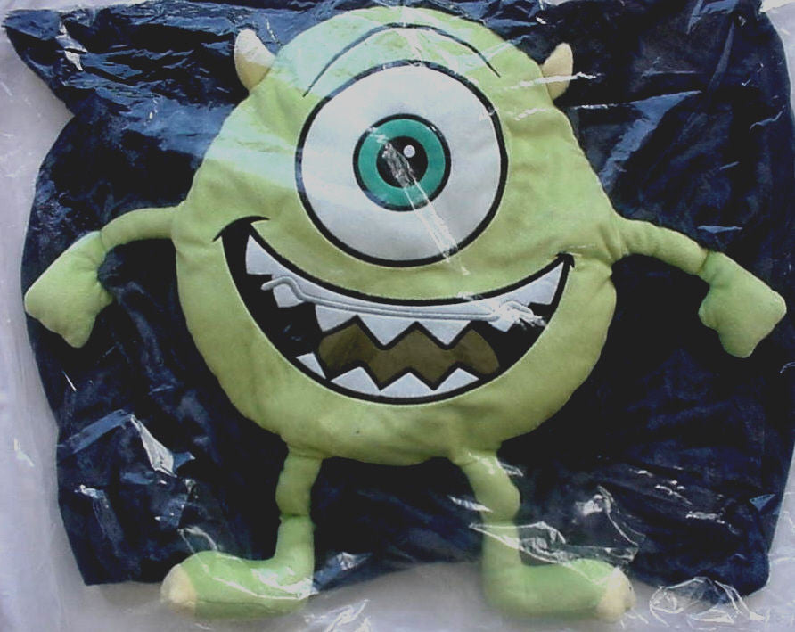 Disney Kelloggs Monsters University Pillow Cover Mike Wazowski