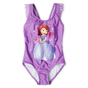 Disney Sofia the First 1 Piece Swimsuit