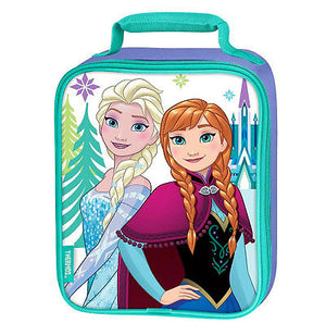 Disney Frozen Anna Elsa Thermos Lunch Bag Box Tote-We Got Character