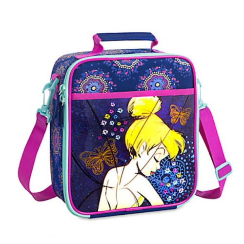 Disney Store Insulated Tinker-Bell Lunch Box Tote-We Got Character