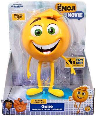 The Emoji Movie Light Up Poseable Figure Gene-We Got Character