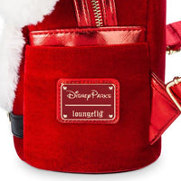 Disney Santa Mickey Mouse Mini Backpack by Loungefly