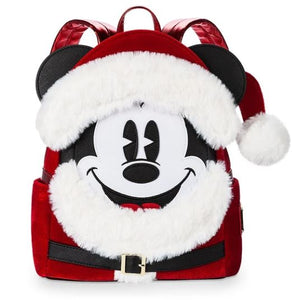 Disney Santa Mickey Mouse Mini Backpack by Loungefly-We Got Character