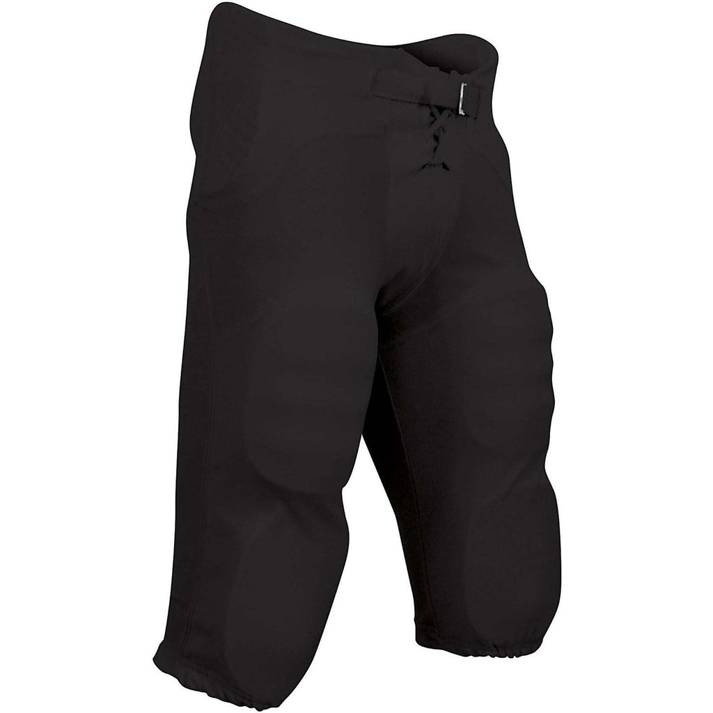 Champro Football Black Pants with Built In Pads-We Got Character
