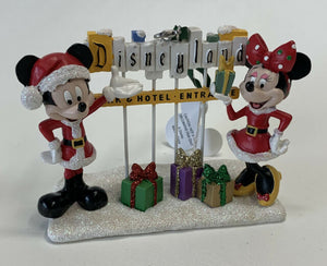 Disneyland Park Hotel Entrance Christmas Ornament-We Got Character
