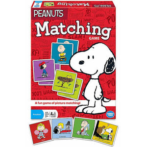 Peanuts Matching Game - We Got Character