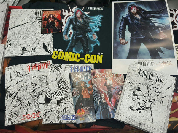 Dark-Hunter San Diego Comic-Con Bundle