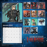 Dark-Hunter® 2018 Calendar
