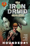 Iron Druid: Hounded comic book issues 1-5