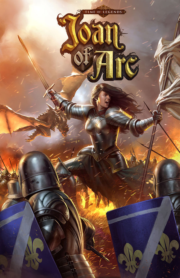 TIME OF LEGENDS: JOAN OF ARC HARDCOVER GRAPHIC NOVEL