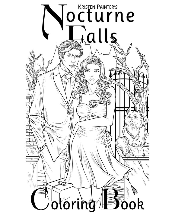Nocturne Falls Coloring Book</span>
