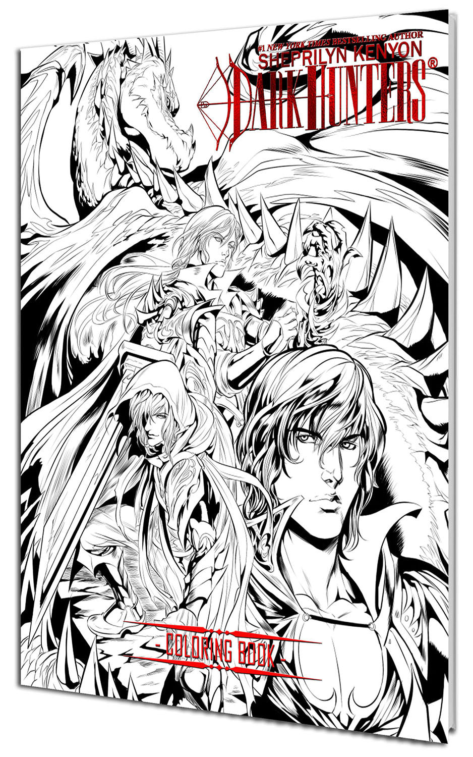 Limited Edition Dark-Hunter Coloring Book Volume 02 – Dabel Brothers