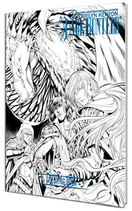 Limited Edition Dark-Hunter Coloring Book Volume 02