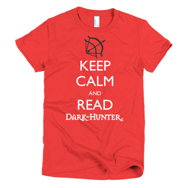 "Dark-Hunters: T-Shirt ""Keep Calm"": Women's"
