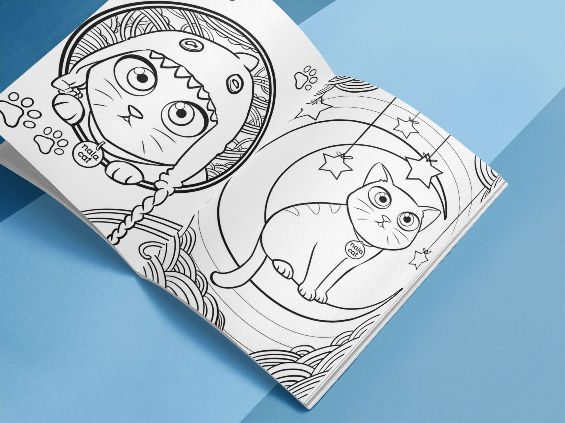 Nala Cat Coloring Book – Dabel Brothers
