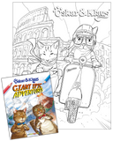 Oskar & Klaus Giant Epic Adventures Coloring Book