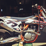 Husky KTM mx pipe high output