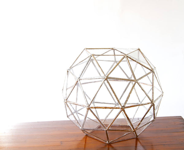 Geodesic Dome Glass Terrarium
