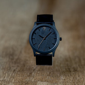 The Boylan Wood Watch - Black & Gold - Wood watches