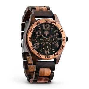 The Oakwood Wood Watch - Chanate/Koa