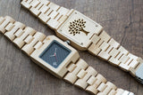 The Glenwood Wood Watch - Maple Wood