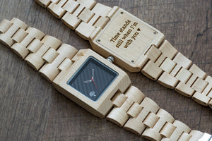 The Glenwood Wood Watch - Maple Wood - Wood watches