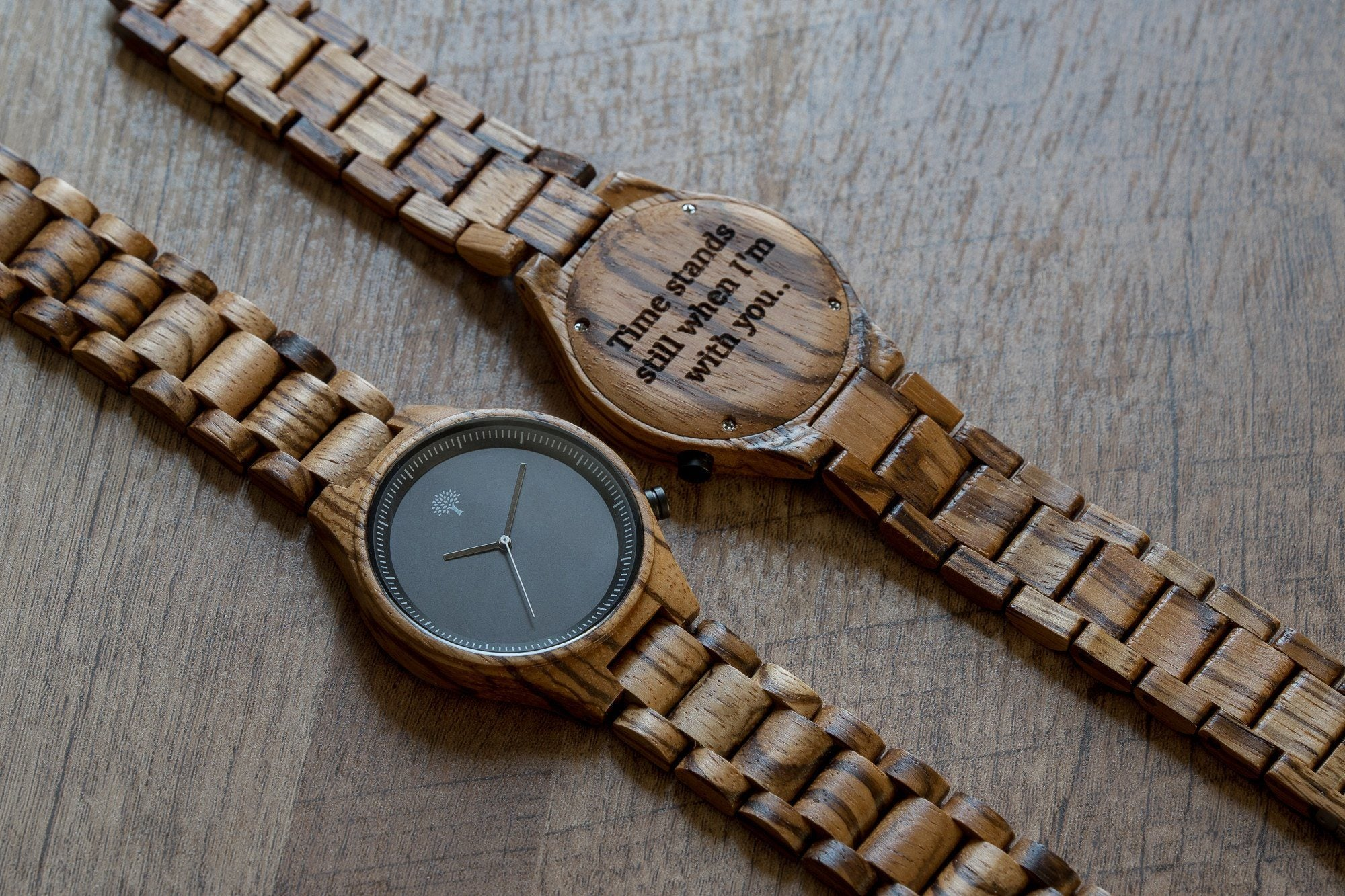 gifts watch wood custom birthday engraved wooden woodchronos watches mens personalized