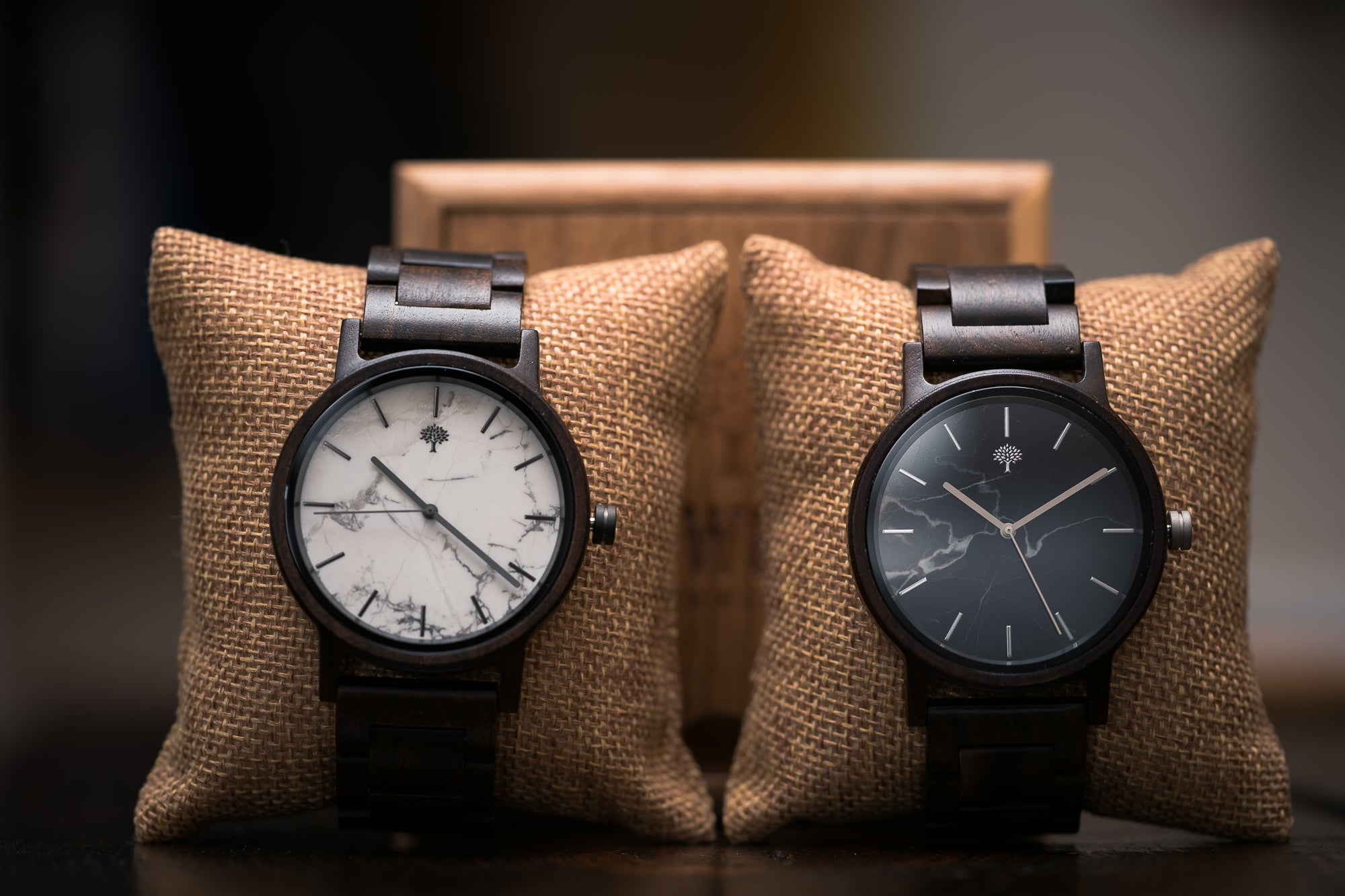 Wood Watches by Lux Woods l Handmade Engraved Wood Watch
