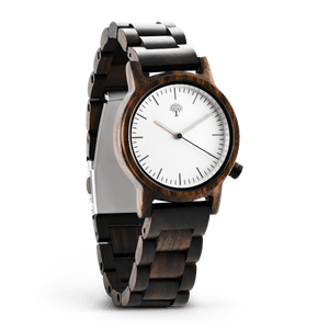 The Gaston Wood Watch- Womens Model- Chanate- Wood Band - Wood watches