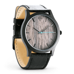 The Boylan Wood Watch - Black & Grey - Wood watches