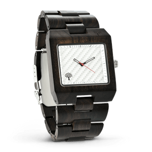 The Glenwood Wood Watch - Chanate White - Wood watches