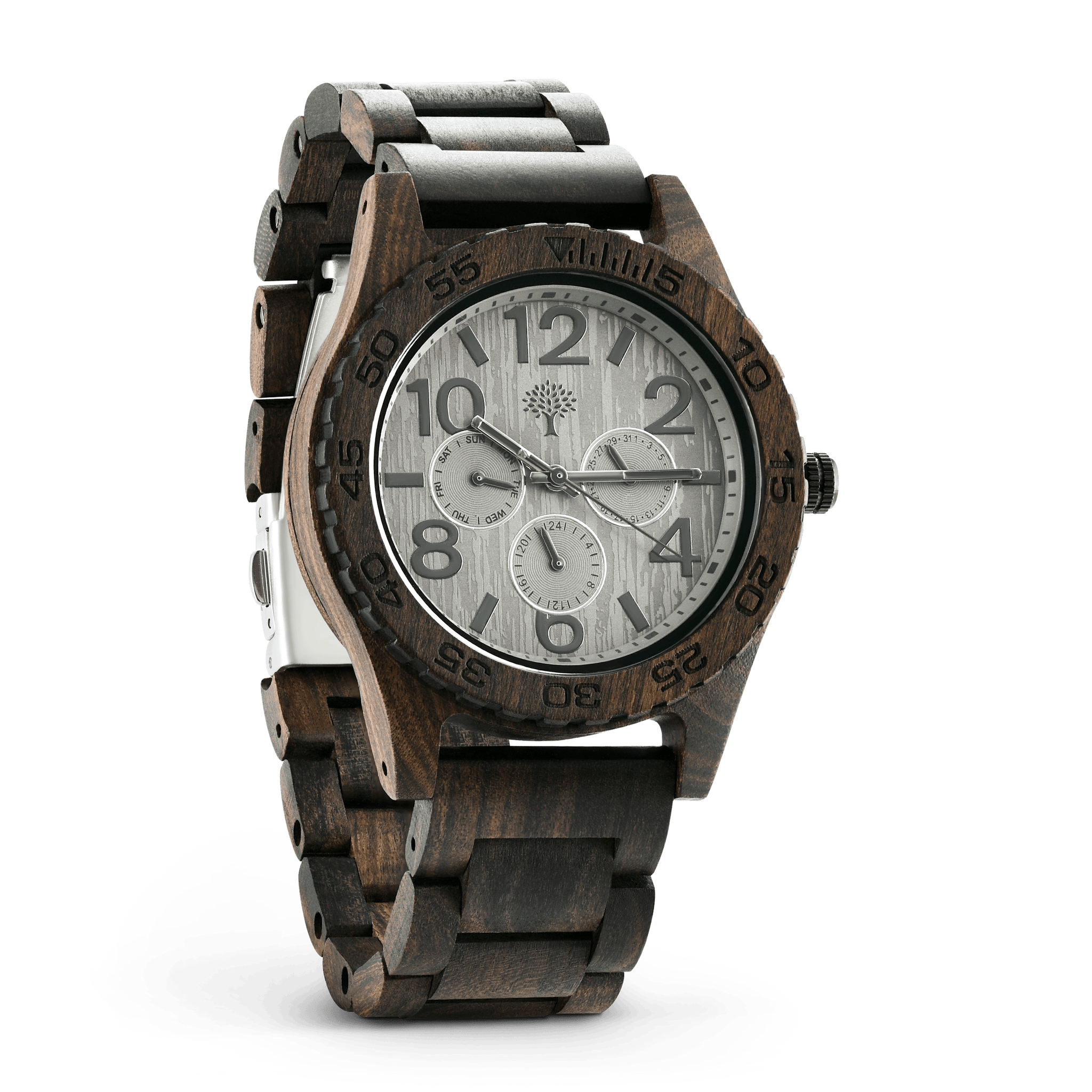 steel watch wood custom bamboo watches factory