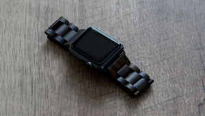 Apple Watch Wood Band- Ebony - Wood watches