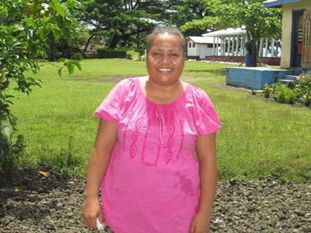 February Loan Recipient - Eseta from Samoa