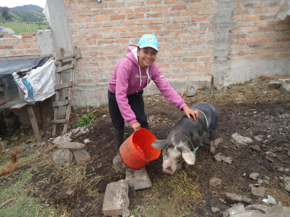 August's Loan Recipient--Omayra Germania, Ecuador