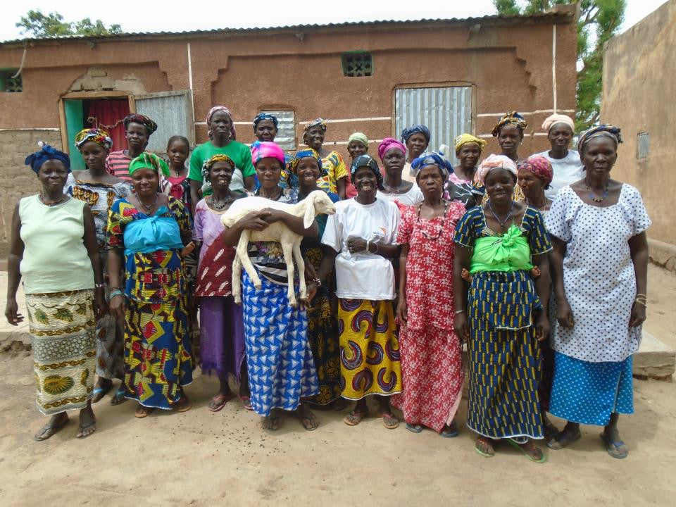 July's Loan Recipient--Siguida Nyetaa's Group